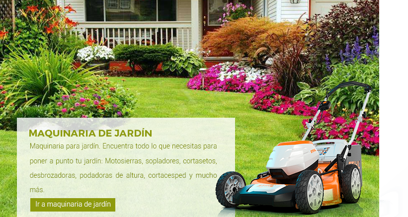 Maquinaria Jardin